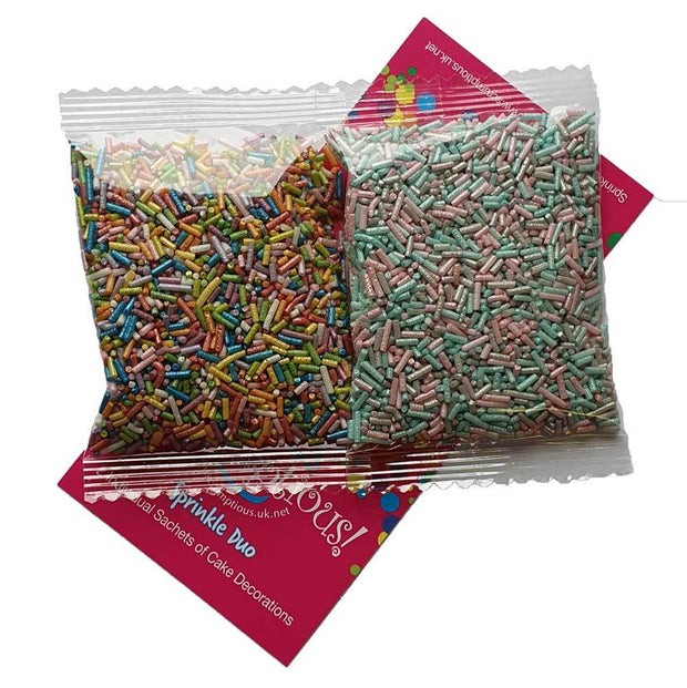 Sprinkle Duo - Rainbow Strands and Unicorn Strands