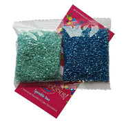 Sprinkle Duo - Blue Sugar and Turquoise Sugar