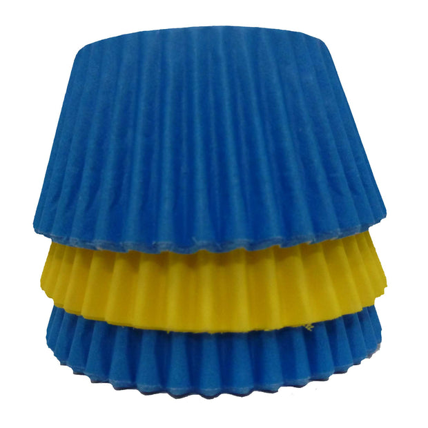 Cupcake Cases - Mixed - Blue and Yellow