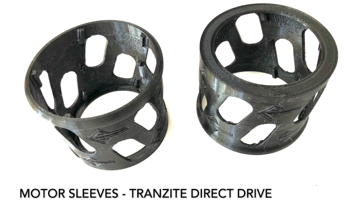 MOTOR SLEEVES - FOR TRANZITE DIRECT DRIVE