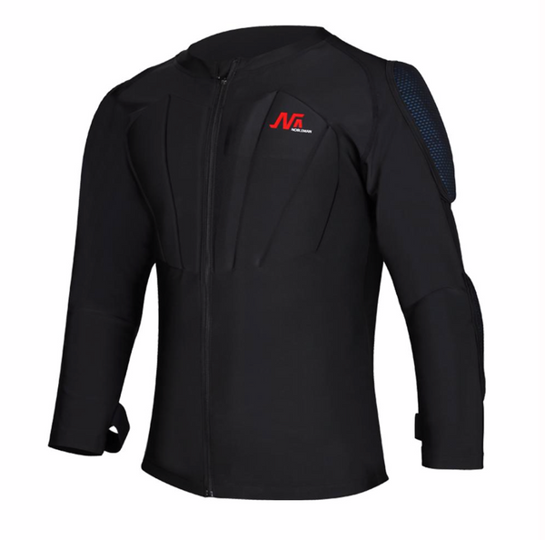 NOBLEMAN Armored Protective T-Shirt with Removable Pads