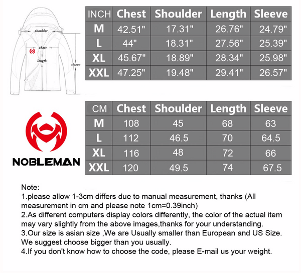 NOBLEMAN STARRY Reflective Jacket