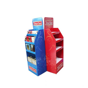 Advertising Food Cardboard Shelf Pop Displays