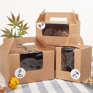 Gift Handle Boxes & Packages