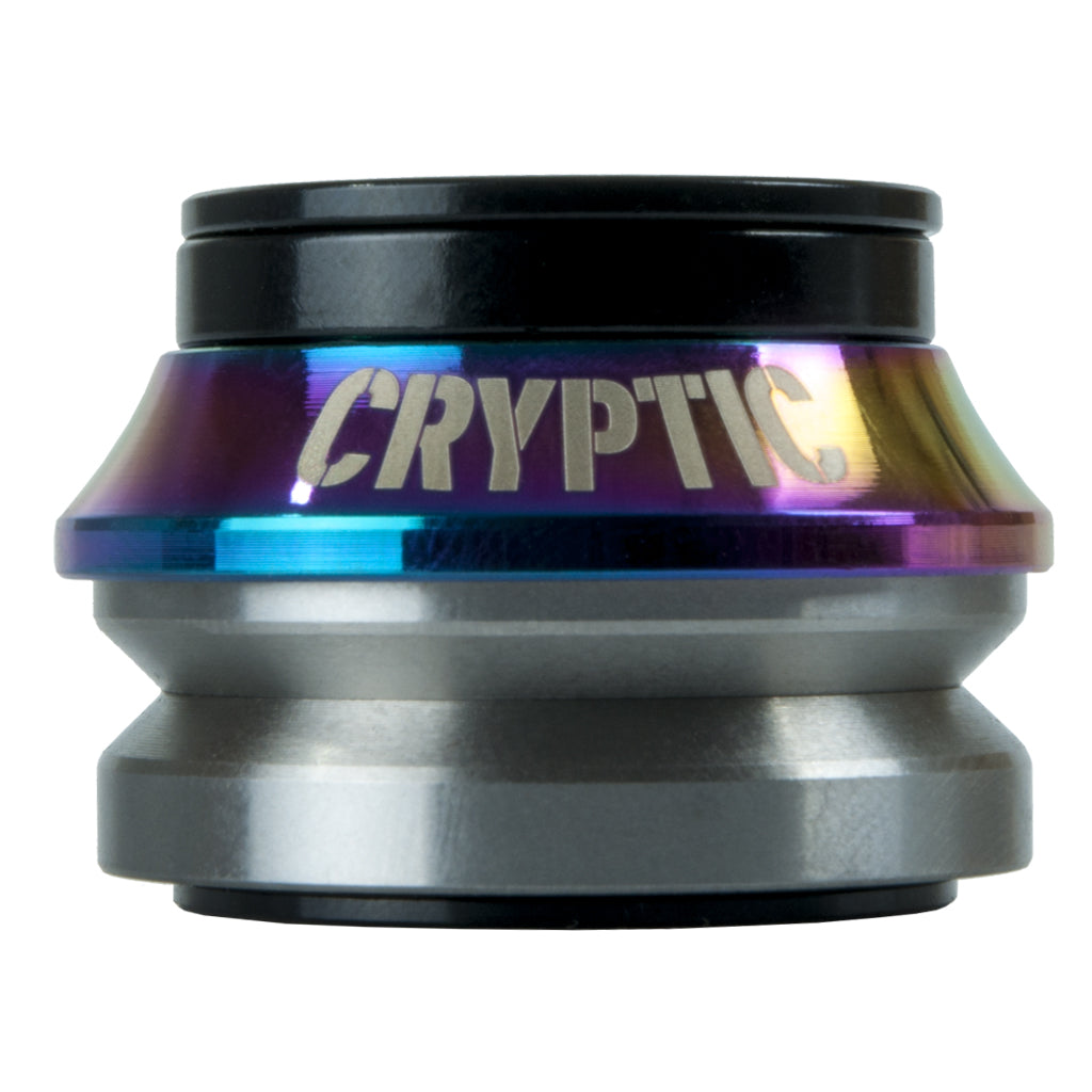 Cryptic Flow BMX Headset - Oil Slick