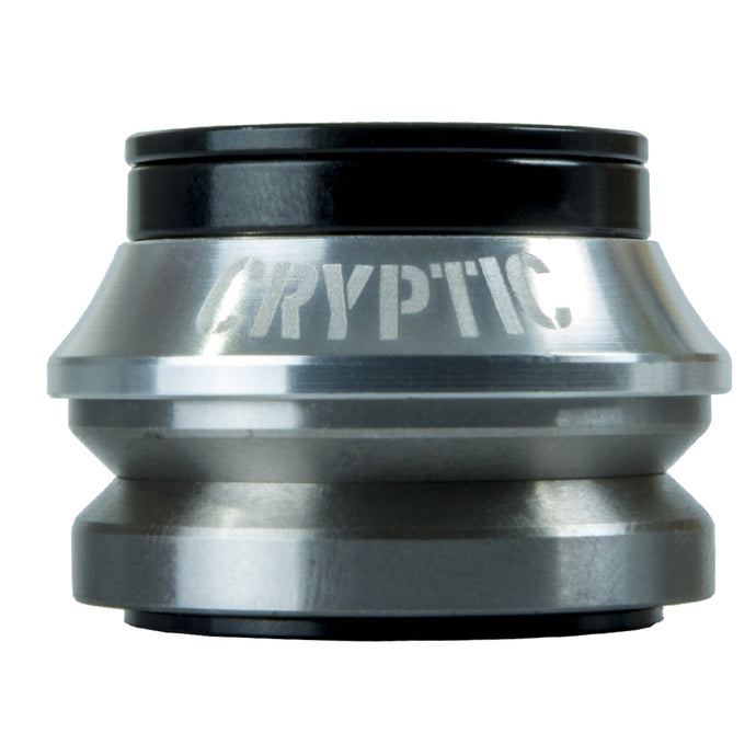 Cryptic Flow BMX Headset - Silver