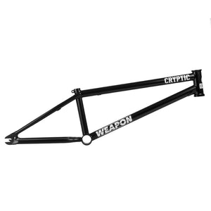 Cryptic Weapon BMX Frame - ED Black