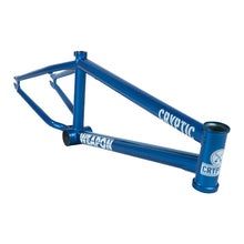 Cryptic Weapon BMX Frame - Blue Haze