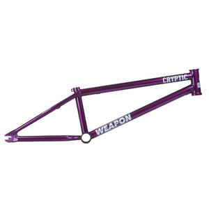 Cryptic Weapon BMX Frame - Purple Haze