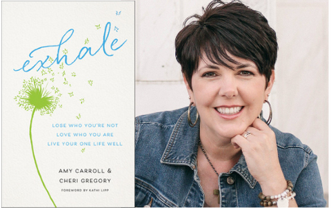 Amy Carroll exhale book