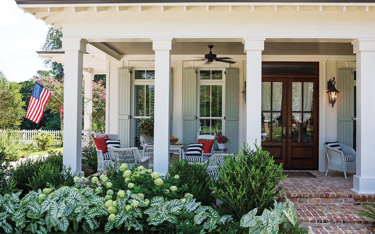 Raleigh Porches, Southern Lady Magazine