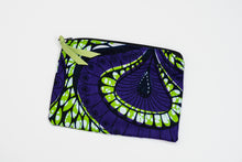African Print Pouches
