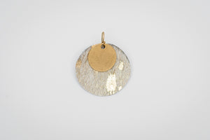 gold_medallion_earring_gold_leather_