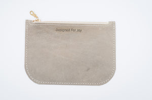 Slim Coin Purse with Zipper