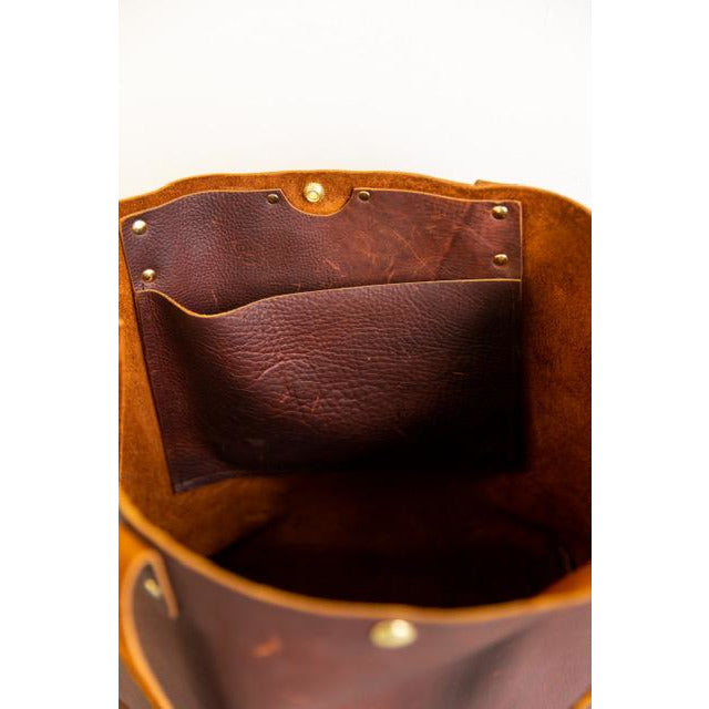 limited style 60% clearance genuine Large Leather Tote Bag ***FREE SHIPPING*** – Designed For Joy