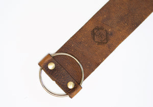 Buckle Bracelet with Signature DFJ Logo