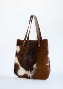 Everyday Hair On Leather Tote