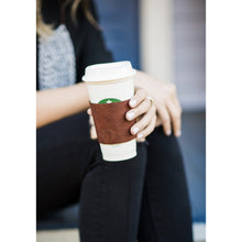 Coffee Coozie | Leather Coffee Cup Sleeve