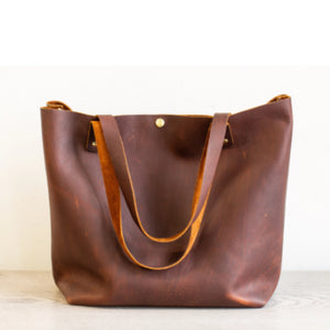 Large Leather Tote Bag ***FREE SHIPPING***