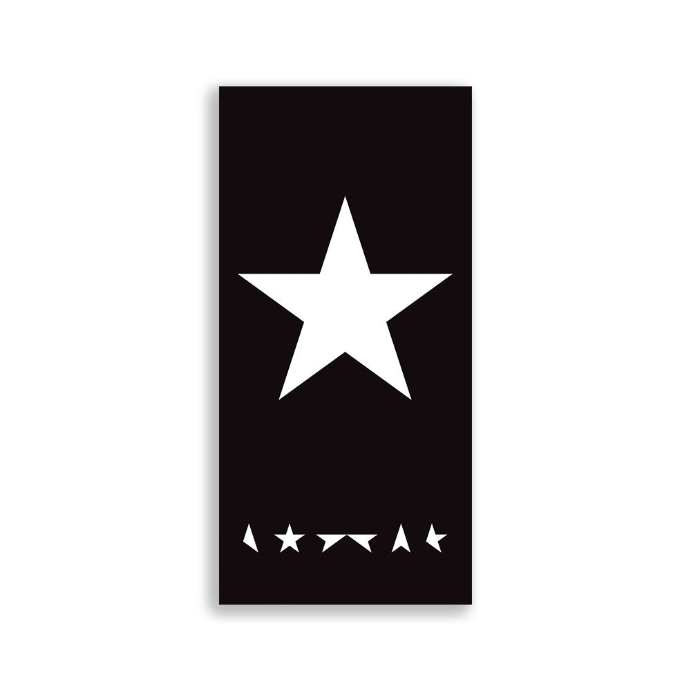 David Bowie Large Plate Print - Blackstar
