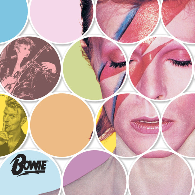 David Bowie Print Discs - Limited Edition