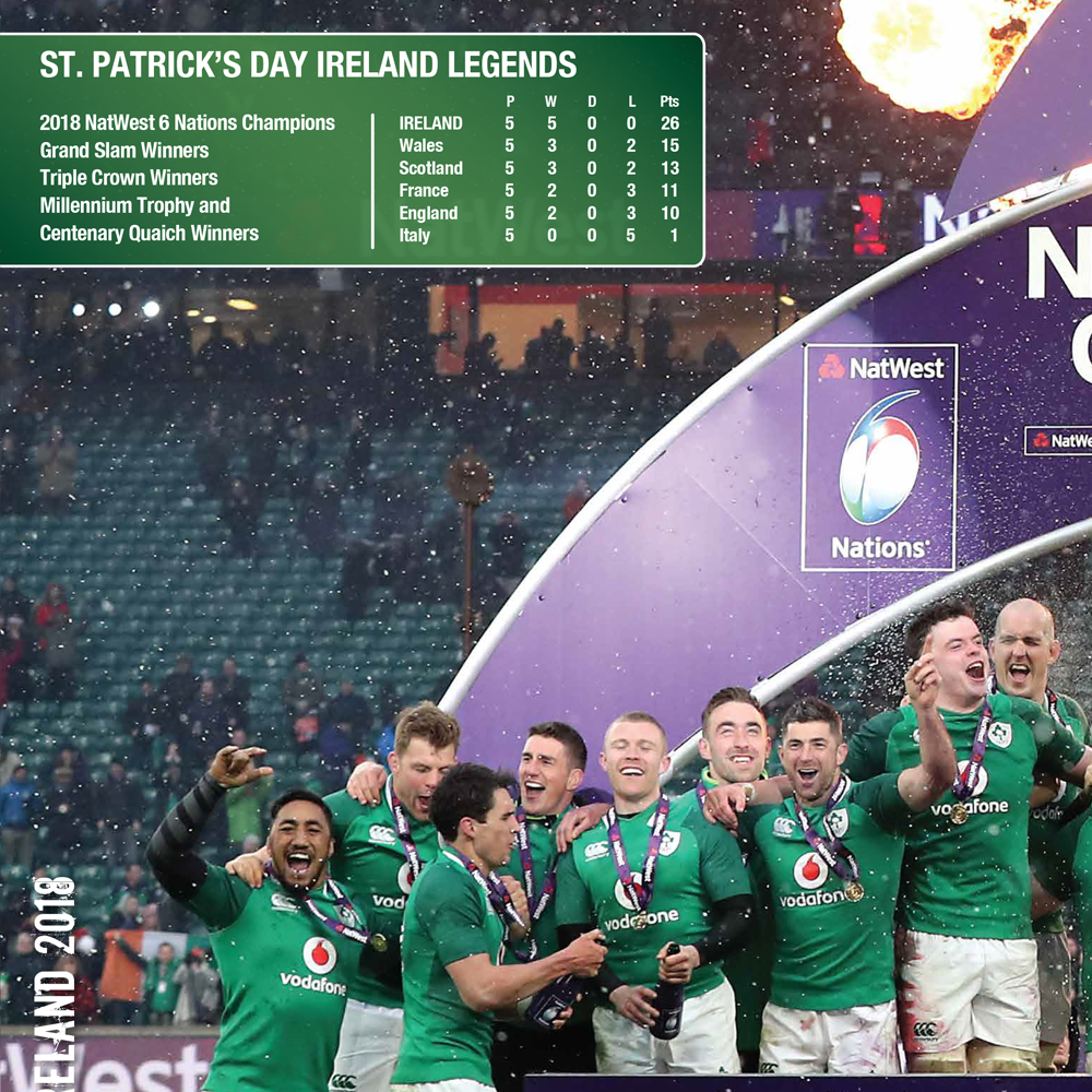 Ireland 2018 - NatWest 6 Nations Champions (Limited Edition)