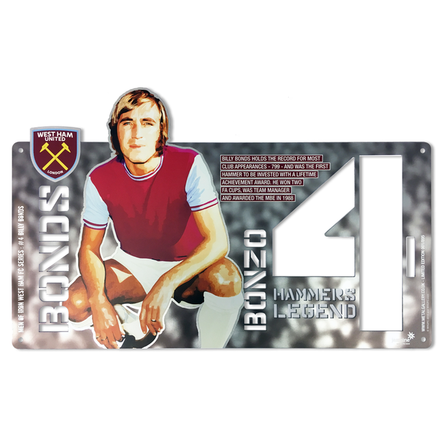 Billy Bonds - Limited Edition