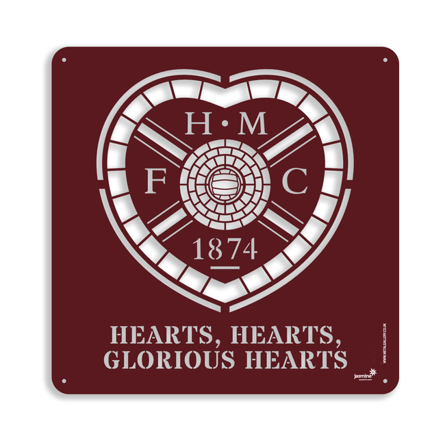 Heart of Midlothian Crest (Large)