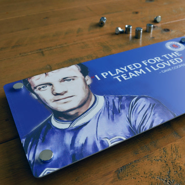 Davie Cooper - Rangers Legend (medium)