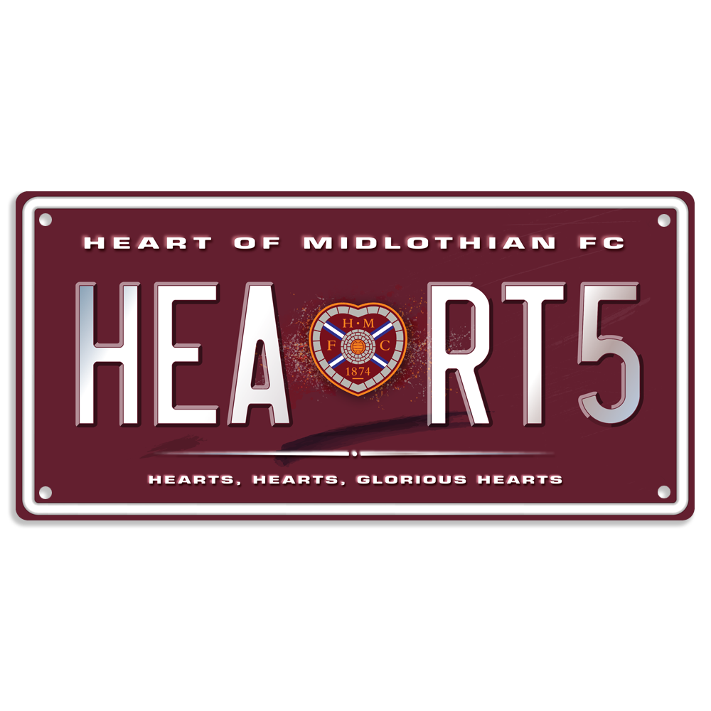 (NEW) Glorious Hearts<br>Plate
