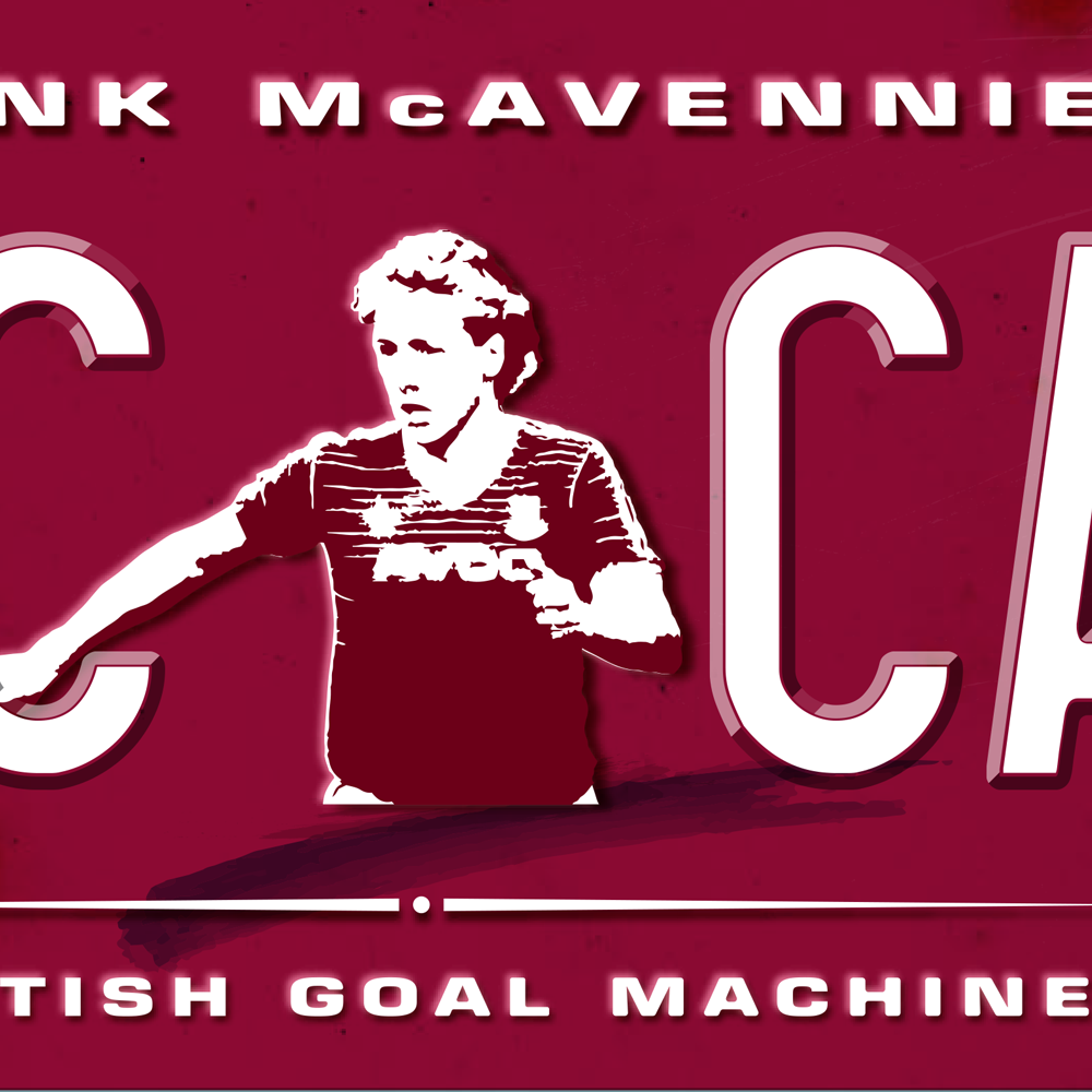 (NEW) Frank McAvennie<br>Plate