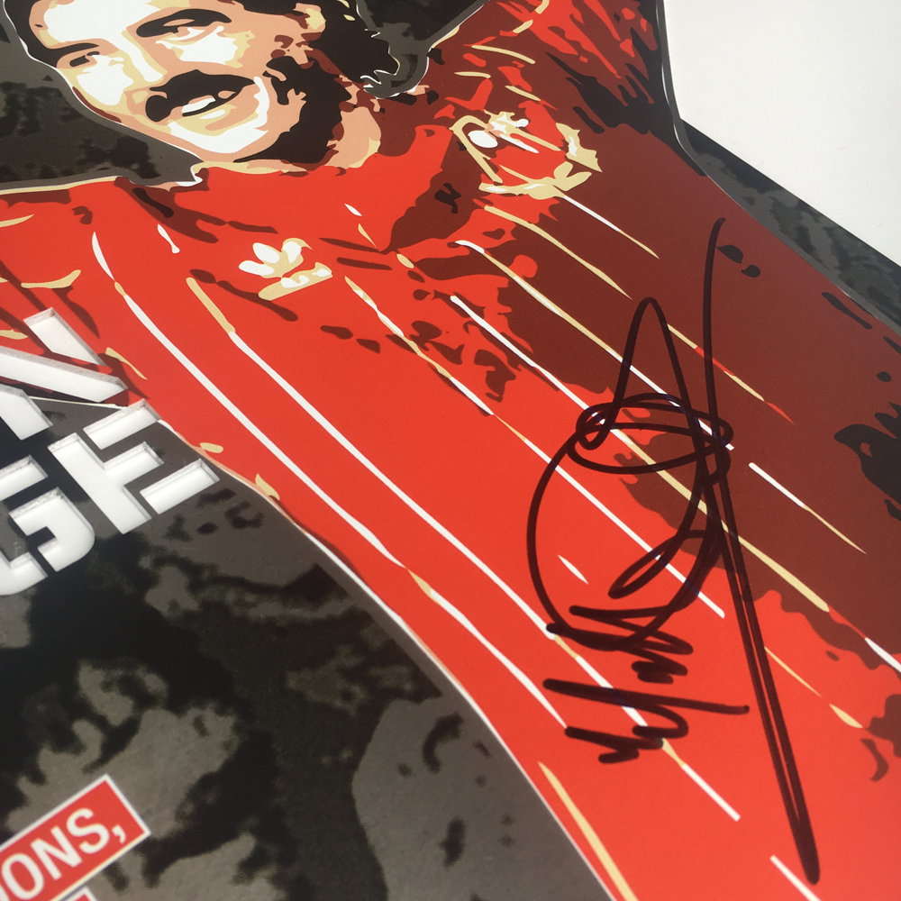 Willie Miller #6 (83 Limited Signed Editions)