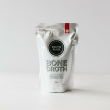 BUY IN BULK. No Shipping Costs. 8 pouches of 500ml Grass Fed Beef Bone Broth