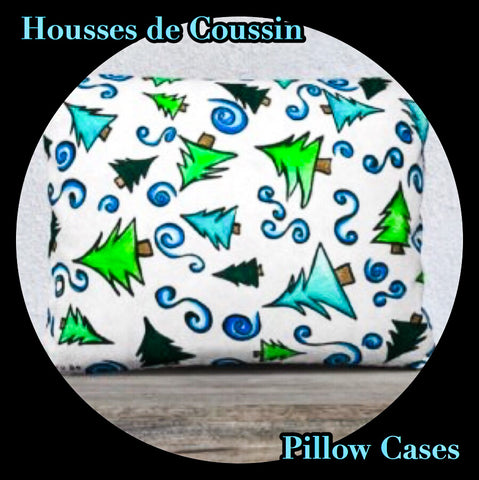 Housses de Coussins de Noël - Christmas Pillow Cases