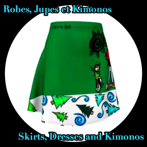 Robes, Jupes et Kimonos de Noël - Christmas Dresses, Skirts and Kimonos