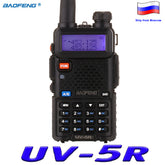 UV-5R Walkie Talkie Two Way Radio 128CH 5W VHF UHF 136-174Mhz & 400-520Mhz