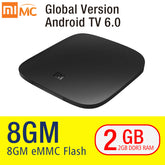 MI TV BOX 3 Smart 4K Ultra HD 2G 8G Android 6.0 Movie WIFI Google Cast Netflix Red Bull Media Player Set-top Box