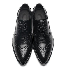 Men Leather Brogues