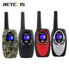 2pcs Mini Walkie Talkie Kids Radio