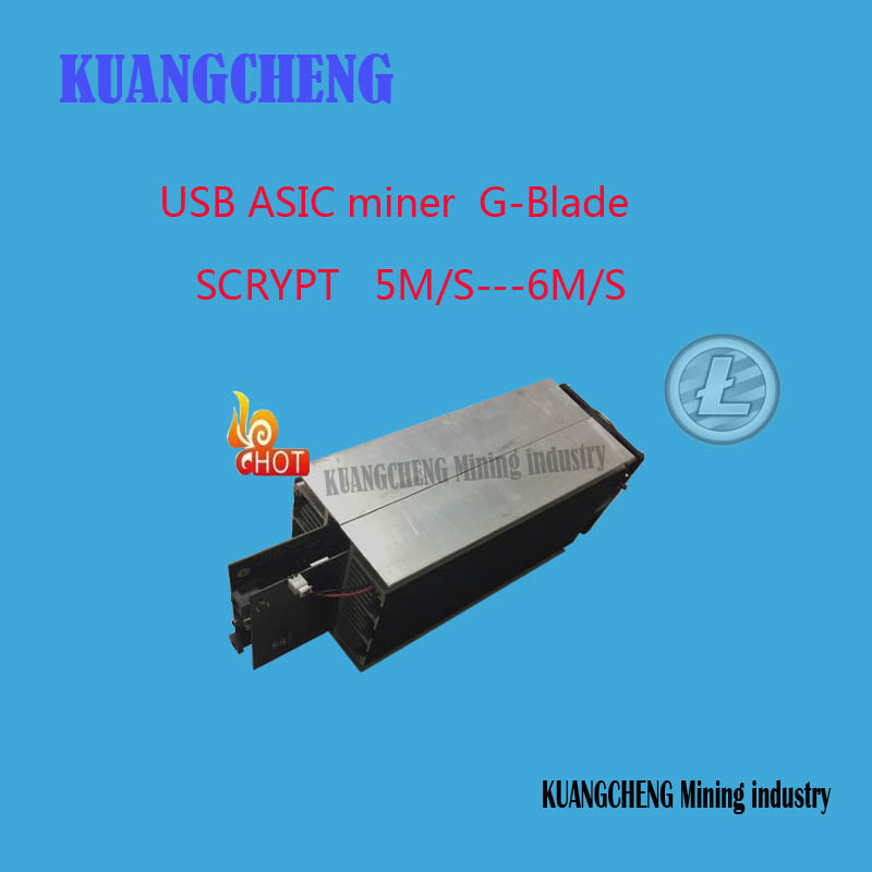 KUANGCHENG Mining industry  SELL ASIC Miner 5.2M-6M/s Scrypt Miner usb miner gridseed blade send out by DHL OR EMS