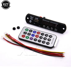 1pcs MP3 WMA Decoder Board Wireless Bluetooth Audio Module USB TF Radio 12V for car Build in Speaker hot sale