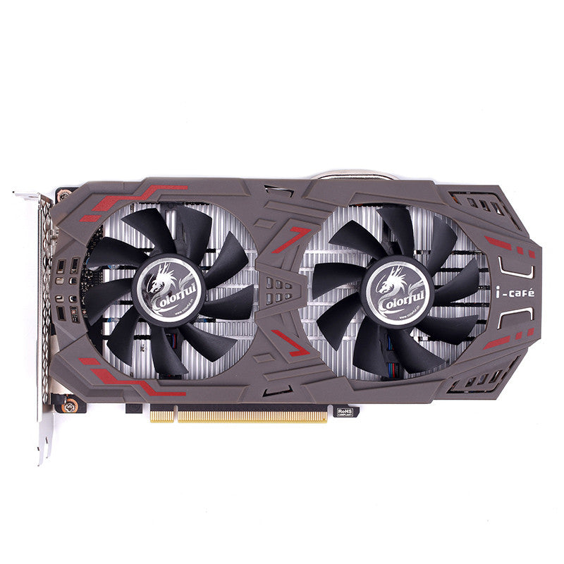 COLORFUL GeForce GTX1060 Graphics Card 6GD5 1506-1708MHz PCI-E X16(3.0) 2*DVI+HDMI+DP Video Card 2 Fans GTX1060-6GD5 GAMING V5