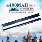 6Cell Laptop Battery for ASUS A32-K52 A31-K52 k52 X52F X52J X52JB X52JC X52JE X52JG X52JK X52JR X52Jt X52JU X52JV k52j X52SG