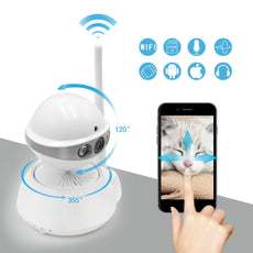 Robot IP WIFI Camera Easy Use Wireless WI-FI 720P HD CCTV Home Security Camera With Remote Surveillance