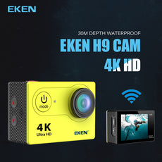 Eken H9 / H9R Ultra HD 4K Action Camera 30 m waterproof Go Extreme Pro Cam