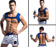 Men Aerobic Exercise Bodysuit