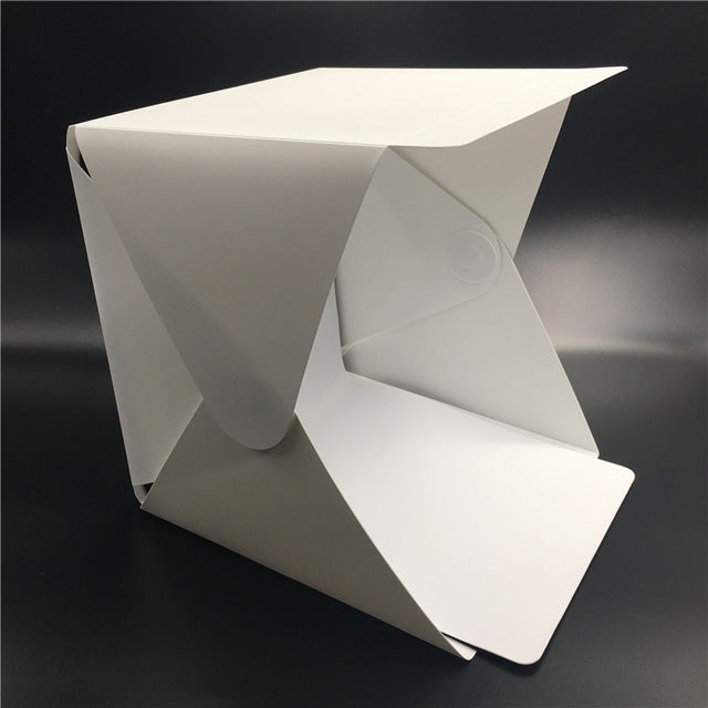 Portable Folding Lightbox Photography Studio Softbox LED Light Soft Box Tent Kit