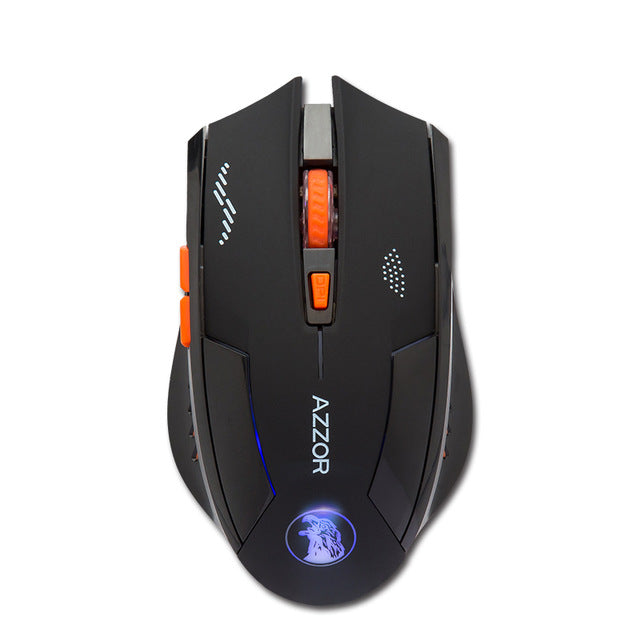 Rechargeable Silent Wireless Optical Mouse