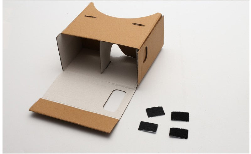 DIY Cardboard Virtual Reality Glasses