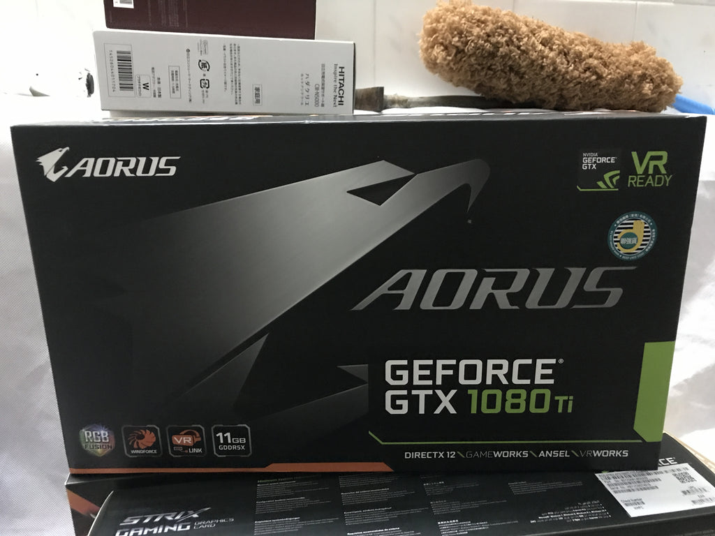 GIGABYTE AORUS GTX 1080 Ti 11G carved game graphics card